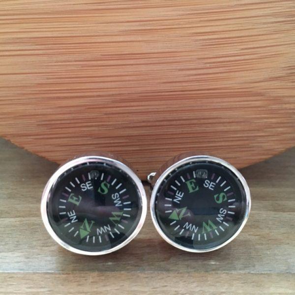 Manžetové gombíky M0012 Kompas 2