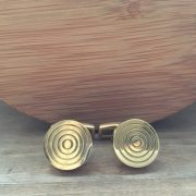 Manžetové gombíky M0156 Zlatý terč 2