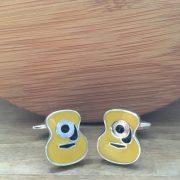Manžetové gombíky M0222 Žltá gitara 2