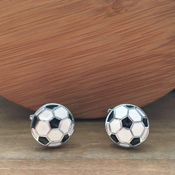 Manžetové gombíky M0274 Futbalová lopta