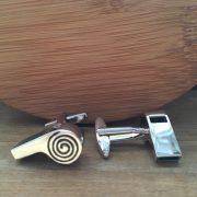 Manžetové gombíky M0346 Píšťalka 2