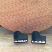 Manžetové gombíky M0497 Klavír 4