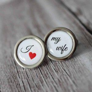 hand made i love my wife okruhle