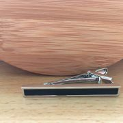 Kravatová spona M0401 ČIerny pás 4