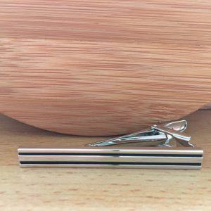 Kravatová spona M0441 Dva pásiky 3