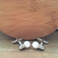 Manžetové gombíky M0180 Žiarovka 2