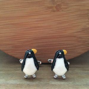 Manžetové gombíky M0208 Tučniak