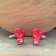 Manžetové gombíky M0241 Boxerské rukavice 3