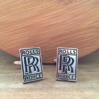 Manžetové gombíky M0280 Rolls Royce
