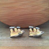 Manžetové gombíky M0320 Loď 2