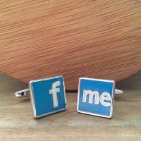 Manžetové gombíky M0363 Facebook 3