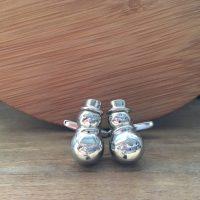 Manžetové gombíky M0375 Snehuliak 3