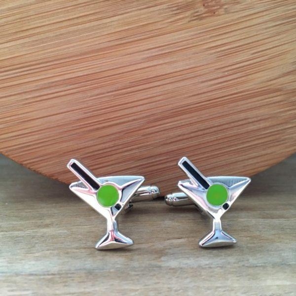 Manžetové gombíky M0413 Martini 2