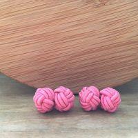 Manžetové gombíky M0460 Ružová
