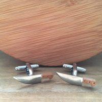 Manžetové gombíky M0468 Nože