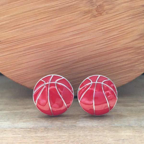 Manžetové gombíky M0510 Basketbalová lopta