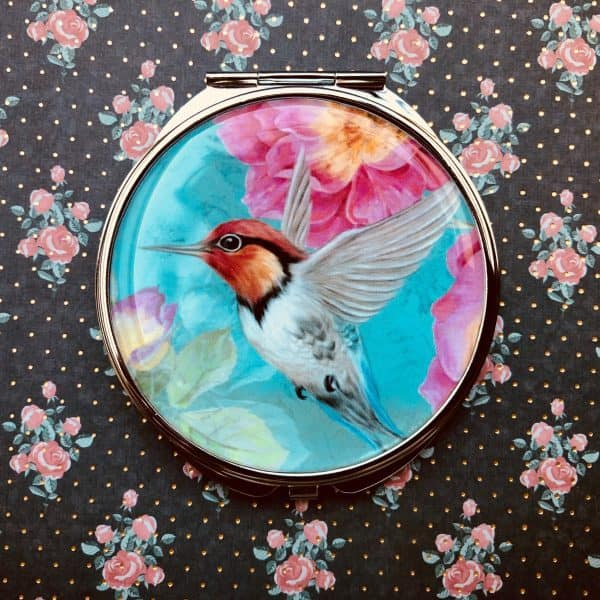 zrkadielko kolibrík