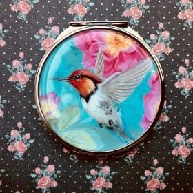 zrkadielko tyrkysový kolibrík
