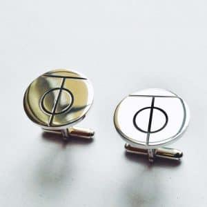 Manžetové gombíky z drahých kovov