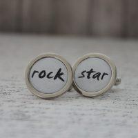 manzetove gombiky na mieru rock star